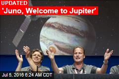 'Juno, Welcome to Jupiter'