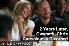 2 Years Later, Gwyneth, Chris Consciously Divorced