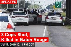 At Least 3 Cops Killed in Baton Rouge