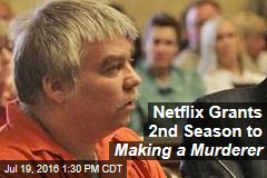 Netflix Grants 2nd Season to Making a Murderer