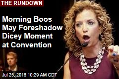 Morning Boos May Foreshadow Dicey Moment at Convention