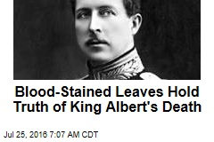 Blood-Stained Leaves Hold Truth of King Albert's Death