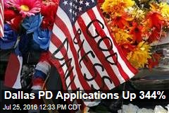 Dallas PD Applications Up 344%