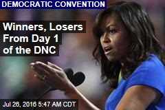 Winners, Losers From Day 1 of the DNC