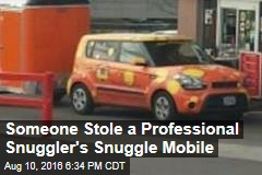 Someone Stole a Professional Snuggler's Snuggle Mobile