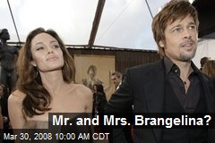 Mr. and Mrs. Brangelina?