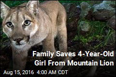 Family Saves 4-Year-Old Girl From Mountain Lion