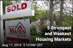 5 Strongest and Weakest Housing Markets
