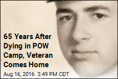 Remains of Korean War POW Return Home After 65 Years