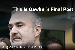 This Is Gawker's Final Post