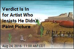 Judge Sides With Artist Who Says He Didn't Paint Picture