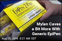 Mylan Caves a Bit More With Generic EpiPen