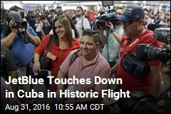 JetBlue Touches Down in Cuba in Historic Flight