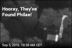 Hooray, They've Found Philae!