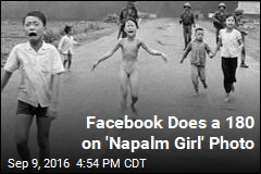 Facebook Does a 180 on 'Napalm Girl' Photo