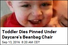 Toddler Dies Pinned Under Daycare's Bean Bag Chair