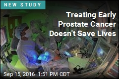Treating Early Prostate Cancer Doesn't Save Lives