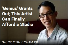 'Genius' Grants Out; This Artist Can Finally Afford a Studio