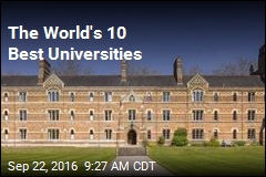 The World's 10 Best Universities