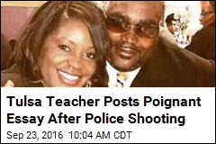 Tulsa Teacher Posts Poignant Essay After Police Shooting