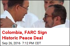 Colombia, FARC Sign Historic Peace Deal