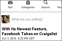 Facebook Launches Revamped Buy/Sell Marketplace