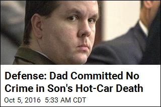 Defense: Dad Committed No Crime in Son's Hot-Car Death