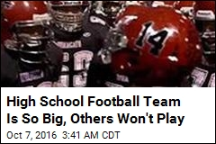 Nobody Wants to Play This High School Football Team