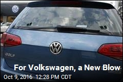 For Volkswagen, a New Blow