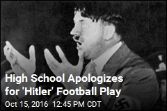 High School Apologizes for 'Hitler' Football Play