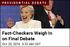 Fact-Checkers Weigh In On Final Debate