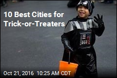 10 Best Cities for Trick-or-Treaters