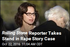 Rolling Stone Reporter Takes Stand in Rape Story Case