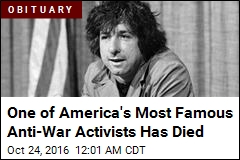 Famed Anti-Vietnam War Activist Tom Hayden Dies
