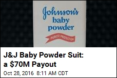 J&J to Cough Up $70M in Baby Powder Lawsuit