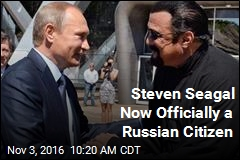 Putin-Seagal Bromance Just Got Serious
