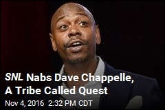 SNL Nabs Dave Chappelle, A Tribe Called Quest