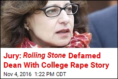Jury Rules Against Rolling Stone in Rape Article Defamation Trial