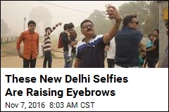 These New Delhi Selfies Are Raising Eyebrows