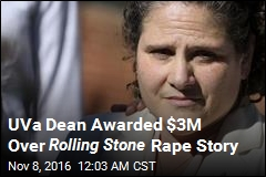 UVa Dean Awarded $3M Over Rolling Stone Rape Story