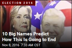 Big-Name Predictions for Election Results