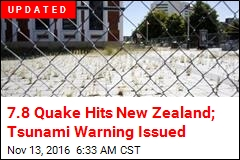 7.4 Quake Hits New Zealand Near Area Devastated in '11