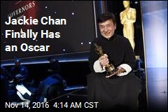 Jackie Chan Finally Has an Oscar