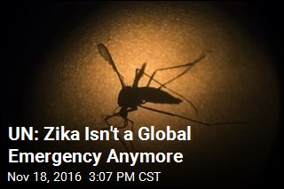 UN: Zika Isn't a Global Emergency Anymore