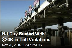 NJ Guy Busted With $20K in Toll Violations