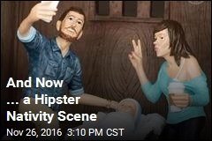 And Now ... a Hipster Nativity Scene