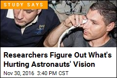 Researchers Figure Out What's Hurting Astronauts' Vision
