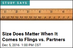 Size Does Matter When It Comes to Flings vs. Partners