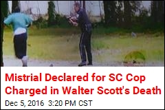 Mistrial Declared for SC Cop Charged in Walter Scott's Death