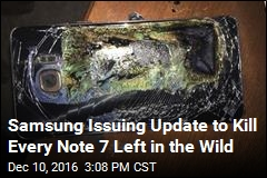 Samsung Issuing Update to Kill Every Note 7 Left in the Wild